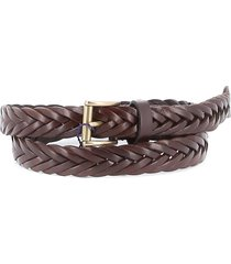 andersons leather braid belt
