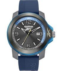 reloj azul reebok triple3