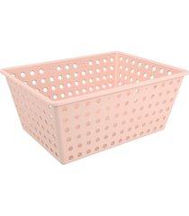 cesta one maxi 39x30x16,8cm rosa blush - 10818/0467 - coza - coza