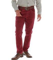 pantalon corduroy rojo rockford