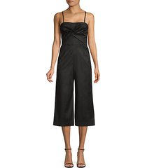 balance twist detail jumpsuit