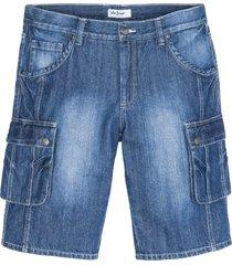 bermuda cargo regular fit (blu) - john baner jeanswear