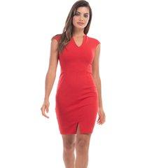 vestido rojo mia loreto kruger