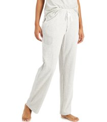 charter club cotton knit pajama pants, created for macy's