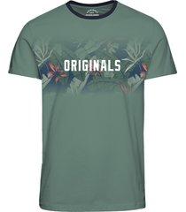 jack & jones t-shirt 12160833 jornewolymp groen