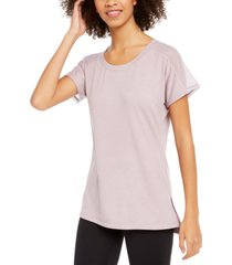 ideology mesh-trimmed t-shirt, created for macy's