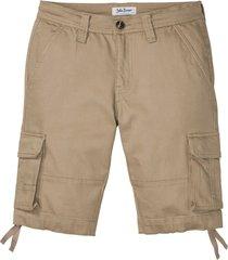bermuda cargo sostenibili con poliestere riciclato (beige) - john baner jeanswear