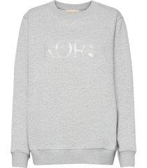 unisex tonal sweatshirt sweat-shirt tröja grå michael kors