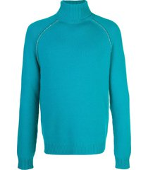 cactus elbow patch cashmere sweater