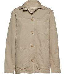 w alan shirt jacket zomerjas dunne jas beige whyred