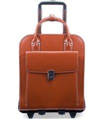 mcklein la grange detachable wheeled briefcase