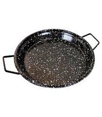 tacho para queimador paellera redondo 60cm roa preto