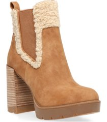 dv dolce vita dilla platform lug booties women's shoes