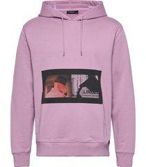 hurl photo jljl hoodie hoodie trui roze j. lindeberg