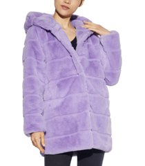 apparis jill hooded faux-fur coat, created for macy's