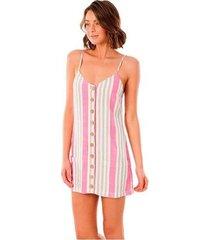 korte jurk rip curl vestido ashore gdrjd8