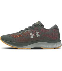 zapatilla gris under armour charged bandit 6 lam