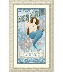 amanti art mermaid i framed art print