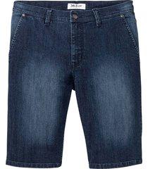 bekväma stretchbermudas i jeanstyg, normal passform
