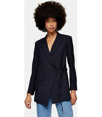 *navy suit blazer by topshop boutique - navy blue
