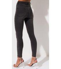 akira disco queen rhinestones high rise skinny jeans