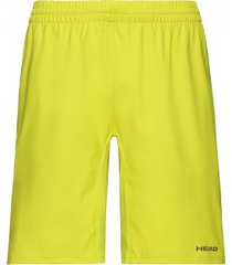 head tennisbroek boys bermudas club yellow-maat 140
