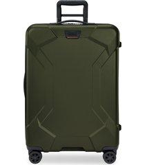 briggs & riley torq 28-inch medium wheeled packing case - green