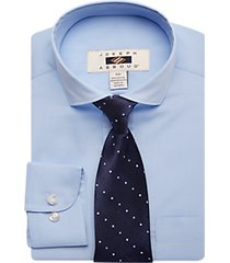joseph abboud boys blue dress shirt & tie set