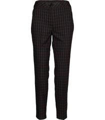 crop leisure trouser pantalon met rechte pijpen zwart gerry weber