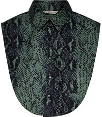 onlshelly weaved collar snake chinois green