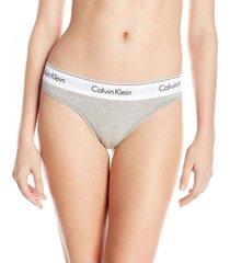 colaless gris calvin klein thong modern cotton
