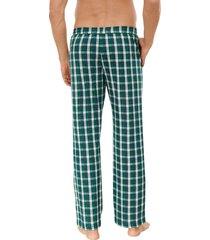 schiesser pyjamabroek groen-blauw ruit