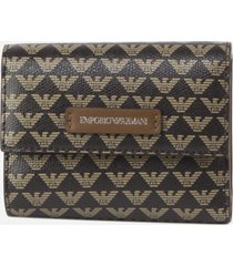 wallet with all-over monogram print