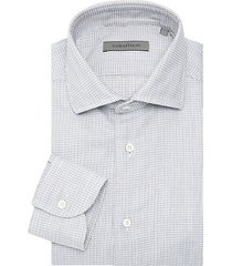broken stripe dress shirt