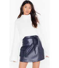 womens we really know our fluff-y knit sweater - white