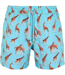 pantaloneta giraffes steam beachwear