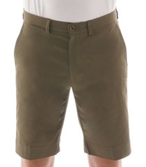 none of the above made in portugal chino shorts | military green | nota-mil