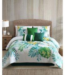 bermuda comforter with 5 bonus pieces set, queen bedding