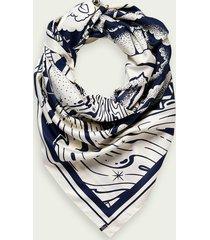 scotch & soda artwork scarf