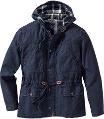giacca da mezza stagione con cappuccio (blu) - rainbow