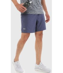 pantaloneta azul under armour speed stride 7