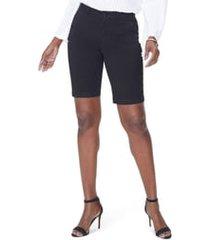 women's nydj stretch twill bermuda shorts, size 14 -