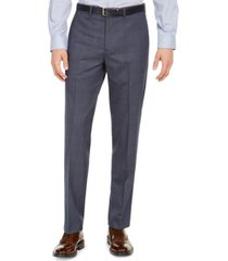 dockers men's slim-fit stretch performance glen plaid dress pants