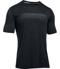 camiseta para hombre under armour-negro