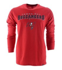'47 brand men's tampa bay buccaneers pregame super rival long-sleeve t-shirt