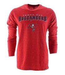 '47 brand men's tampa bay buccaneers pregame super rival long-sleeve t-shirt