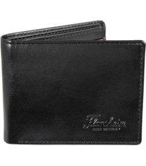 florsheim two-tone leather passcase wallet