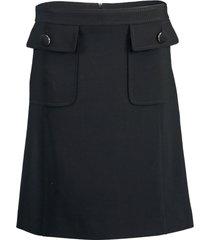 a-line pocket skirt