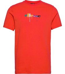 el giorvoa tee t-shirts short-sleeved röd ellesse