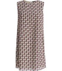 a line sleeveless dress
